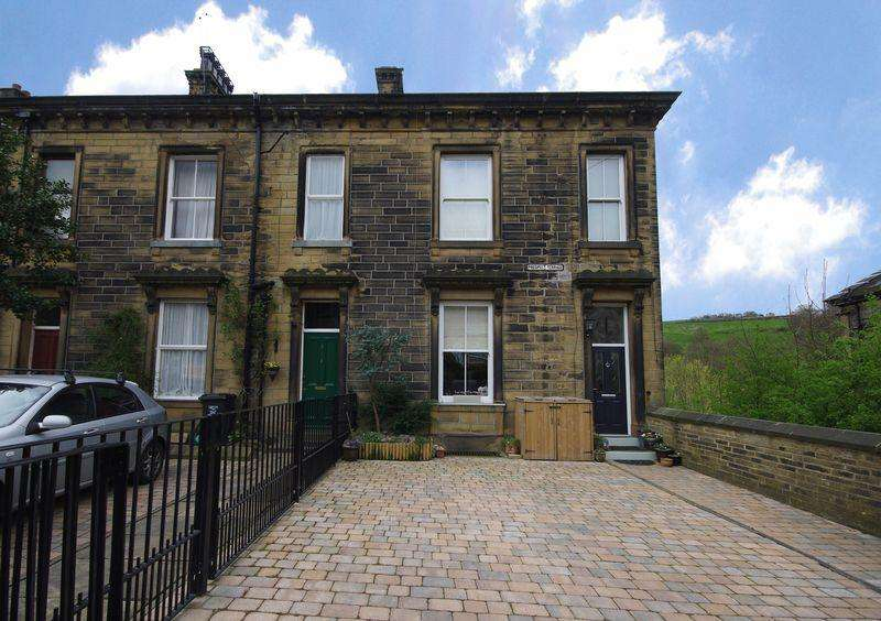 4 Bedrooms End Of Terrace House for sale in Prospect Terrace, Luddendenfoot, HX2 6AX