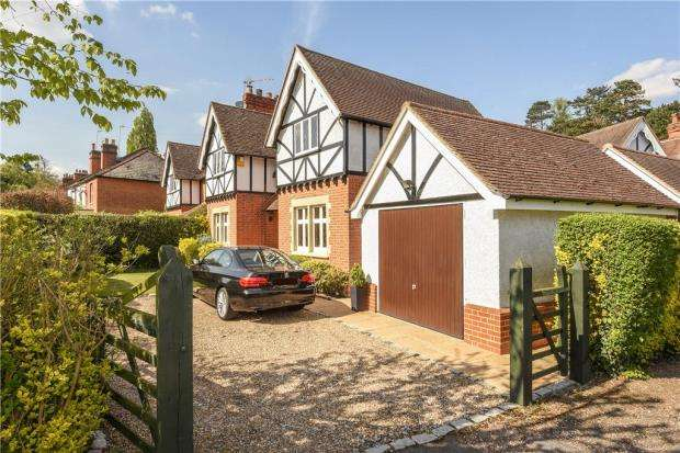 4 Bedrooms Semi Detached House for sale in Silwood Road, Sunningdale, Berkshire
