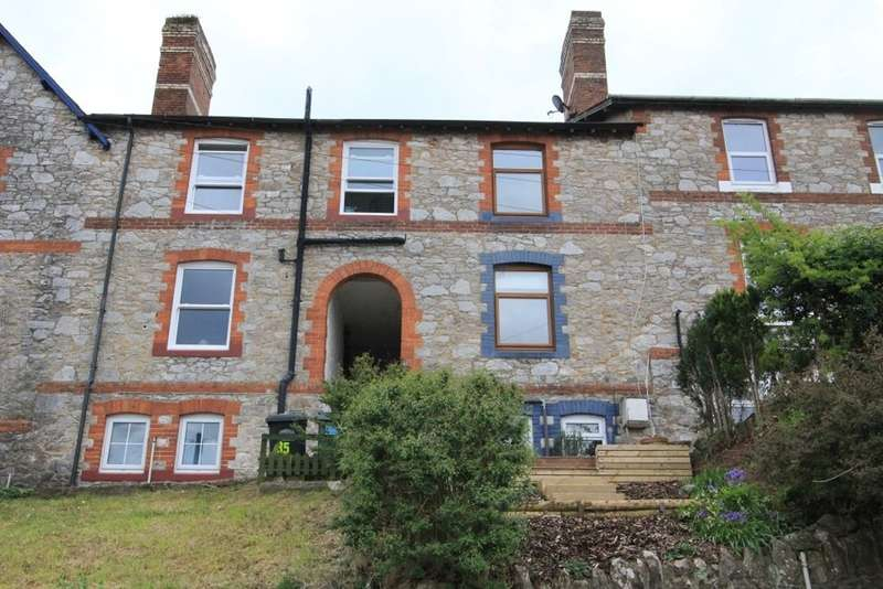 3 Bedrooms Terraced House for sale in Bowden Hill, Newton Abbot