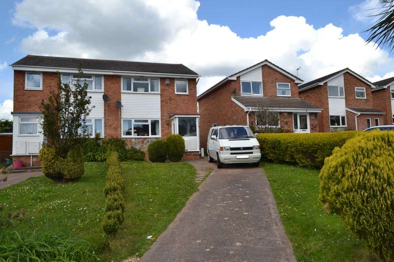 3 Bedrooms Semi Detached House for sale in Palm Close, Exmouth