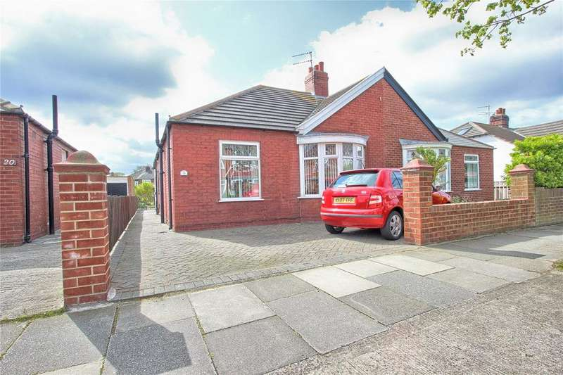 2 Bedrooms Semi Detached Bungalow for sale in Wardman Crescent, Redcar