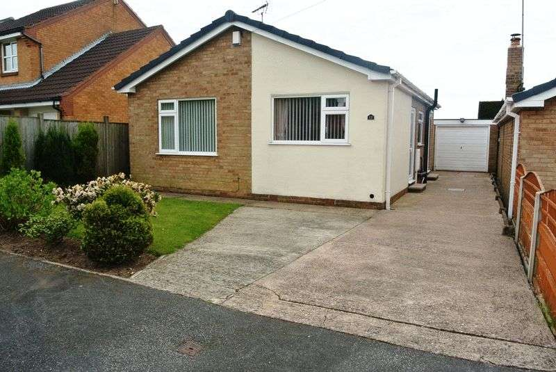 2 Bedrooms Detached Bungalow for sale in Whitestone Close, Mansfield