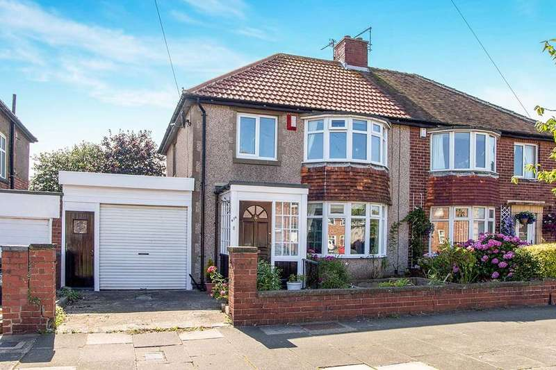 3 Bedrooms Semi Detached House for sale in Beverley Road, Whitley Bay, NE25