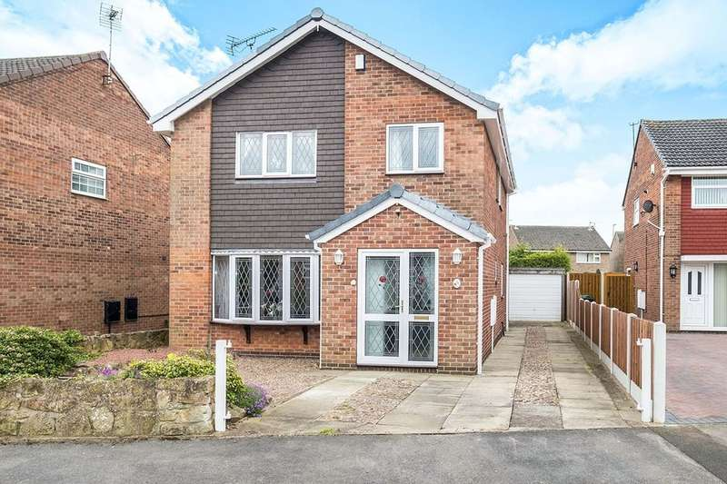 4 Bedrooms Detached House for sale in Wentworth Way, Dinnington, Sheffield, S25