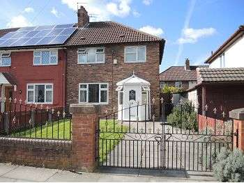 3 Bedrooms End Of Terrace House for sale in Faversham Road, Norris Green, Liverpool