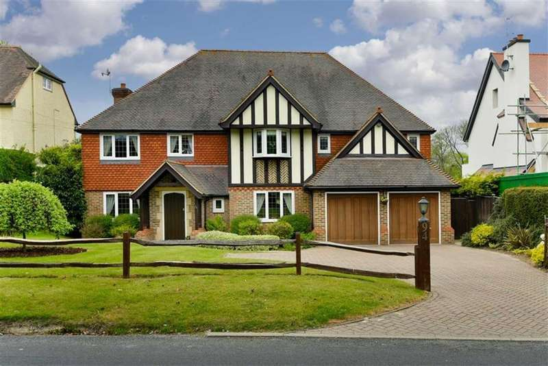 5 Bedrooms Detached House for sale in Burdon Lane, South Cheam, Surrey
