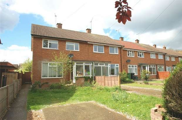 3 Bedrooms End Of Terrace House for sale in Windermere Avenue, St Albans, Hertfordshire