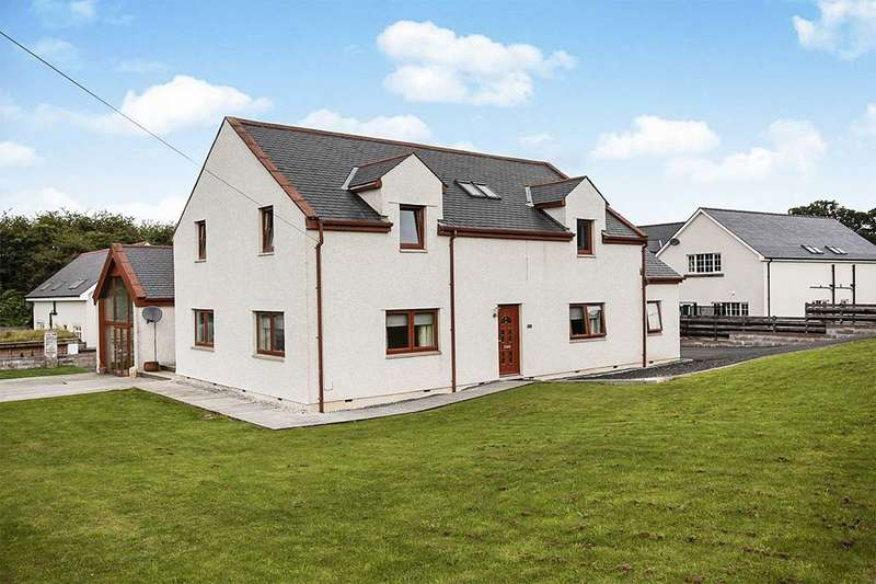 5 Bedrooms Detached House for sale in Mill Bank House, Cample, Thornhill, DG3