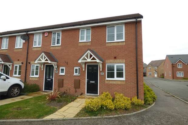 3 Bedrooms End Of Terrace House for sale in Cygnet Avenue, Penn's Croft, Nuneaton, Warwickshire