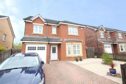 4 Bedrooms Detached House for sale in Morven Drive, Motherwell, North Lanarkshire
