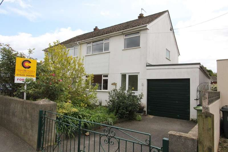 3 Bedrooms Semi Detached House for sale in Longford Lane, Kingsteignton