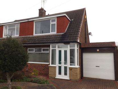 3 Bedrooms Semi Detached House for sale in Westerfield Way, Silverdale, Nottinghamshire