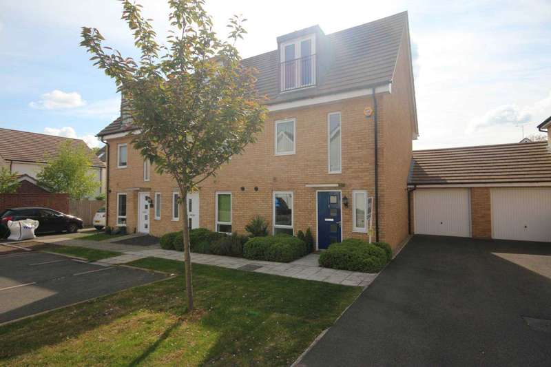 3 Bedrooms End Of Terrace House for sale in Vickers Row, Bracknell