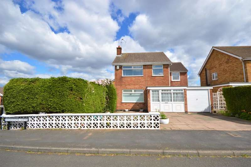 4 Bedrooms Detached House for sale in Aylestone Lane, Wigston, LE18 1BE