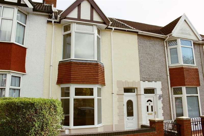 3 Bedrooms Terraced House for sale in Glanmor Road, Sketty
