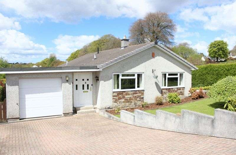 3 Bedrooms Detached Bungalow for sale in Glebe Meadow, Callington