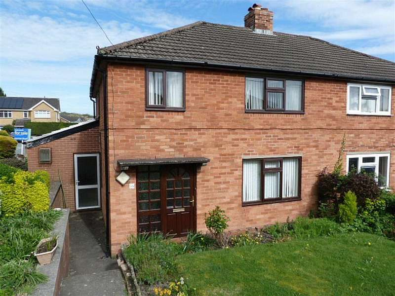 3 Bedrooms Semi Detached House for sale in Crescent Gardens, Newtown