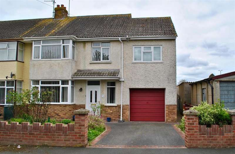 4 Bedrooms Semi Detached House for sale in Beverley Close, Taunton