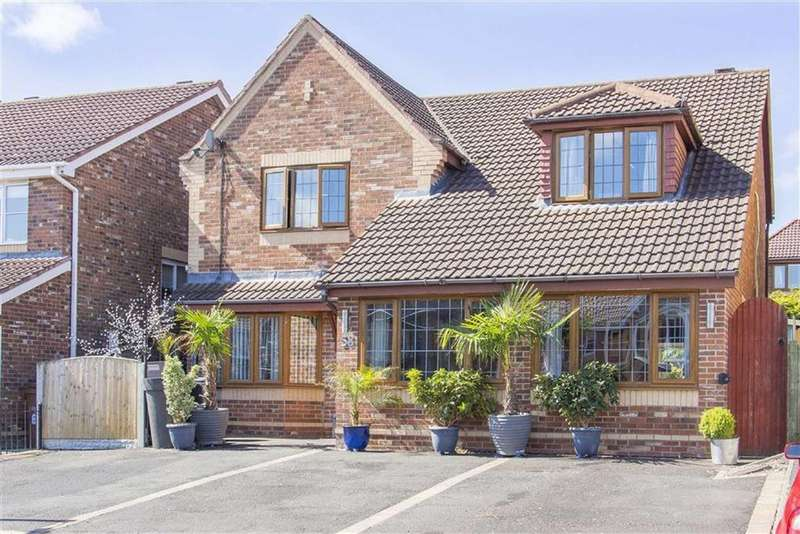 4 Bedrooms Detached House for sale in Hillsdown Drive, Connah's Quay, Deeside, Flintshire
