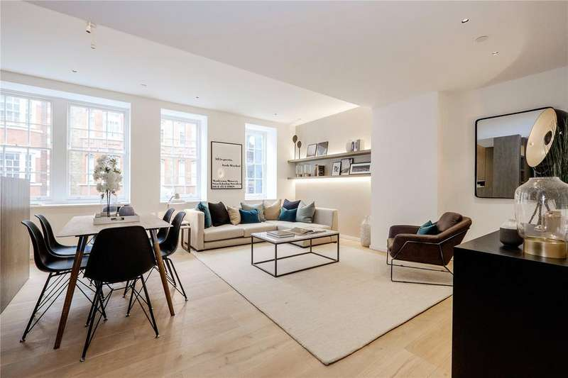 3 Bedrooms Apartment Flat for sale in Bolsover Street, Fitzrovia, W1W