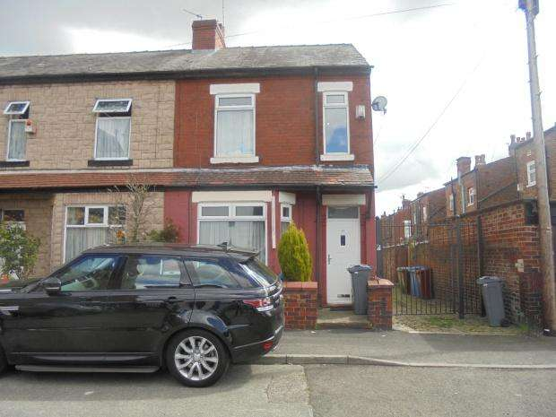 3 Bedrooms End Of Terrace House for sale in Cardus Street, Manchester, M19