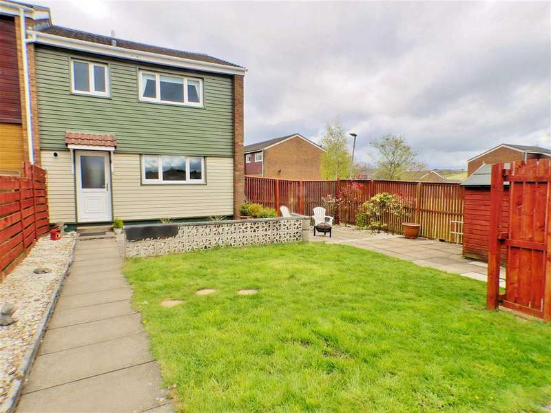3 Bedrooms End Of Terrace House for sale in Mull, St. Leonards, EAST KILBRIDE
