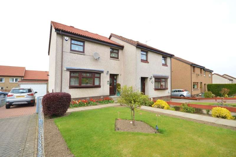 3 Bedrooms Semi Detached House for sale in Carden Castle Park, Cardenden, Lochgelly, KY5