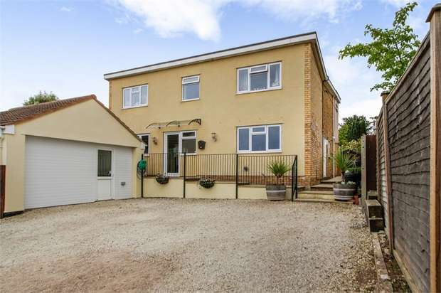5 Bedrooms Detached House for sale in Cliff Road, North Petherton, Bridgwater, Somerset