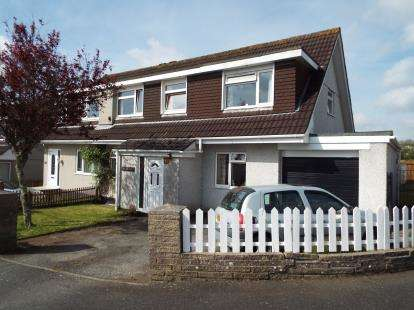 4 Bedrooms Semi Detached House for sale in St Austell, Cornwall, Uk