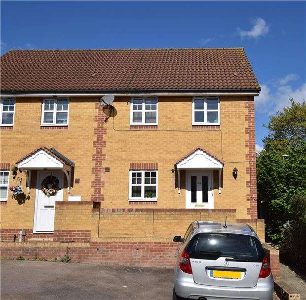 3 Bedrooms End Of Terrace House for sale in Bakers Gardens, CARSHALTON, Surrey, SM5 2SF