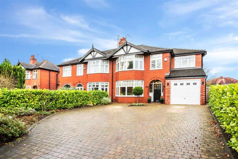 4 Bedrooms Semi Detached House for sale in Kempnough Hall Road, Worsley, Manchester, M28 2GN