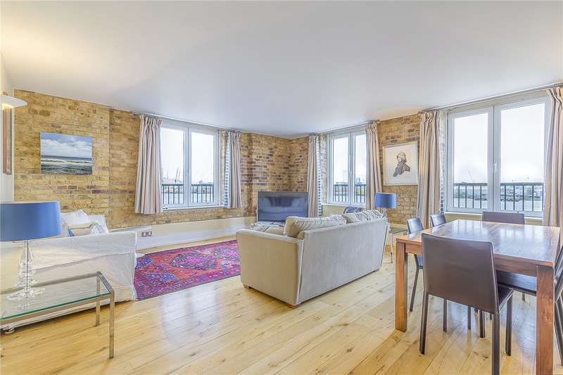 3 Bedrooms Flat for sale in Cubitt Wharf, Storers Quay, London, E14