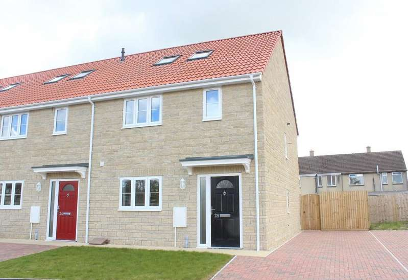4 Bedrooms Terraced House for sale in The Sidings, Shepton Mallet