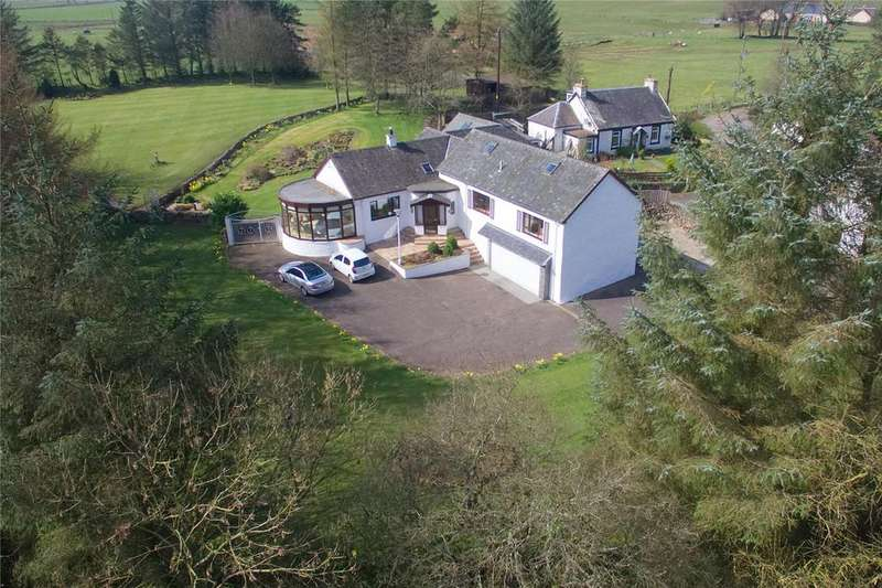 4 Bedrooms Equestrian Facility Character Property for sale in Blackburn Mill House, Bankfield Road, Chapelton, Strathaven, Lanarkshire