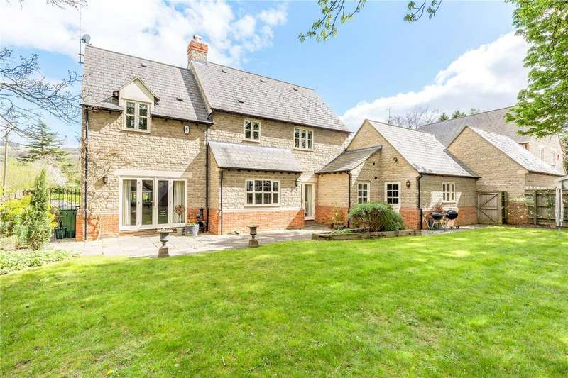 4 Bedrooms Detached House for sale in Mill Lane, Prestbury, Cheltenham, Gloucestershire, GL52