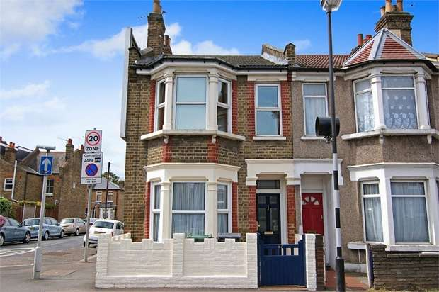 2 Bedrooms End Of Terrace House for sale in Chingford Road, Walthamstow, London