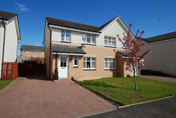 3 Bedrooms Semi-detached Villa House for sale in 28 Limekiln Wynd, Mossblown, Ayr, KA6 5BE