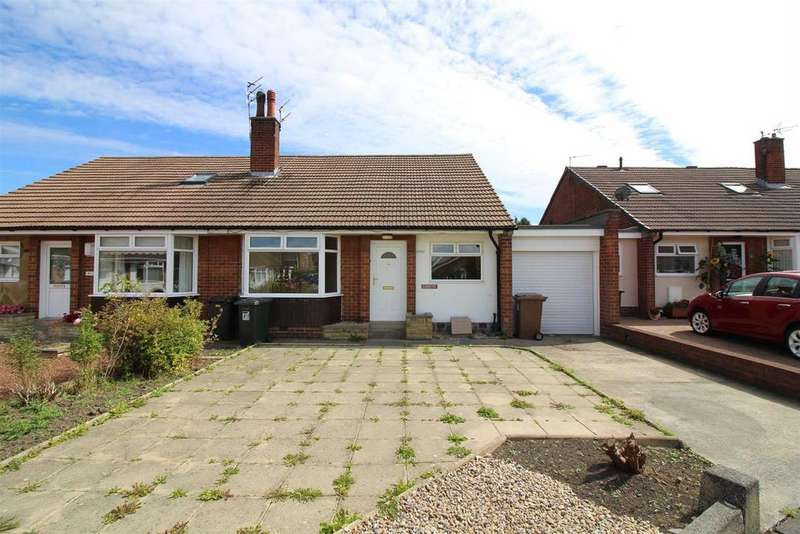 2 Bedrooms Semi Detached Bungalow for sale in Wensleydale Drive, Forest Hall, Newcastle Upon Tyne