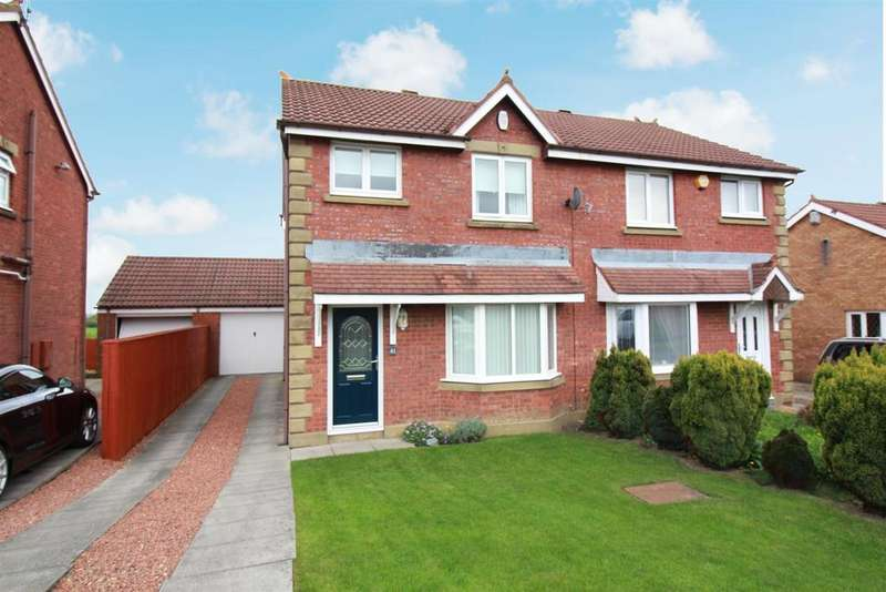 3 Bedrooms Semi Detached House for sale in Ashley Close, Killingworth, Newcastle Upon Tyne