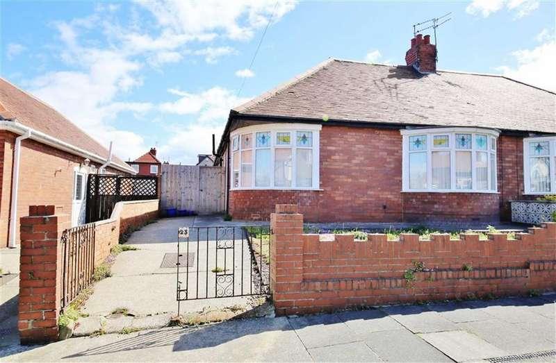 2 Bedrooms Semi Detached Bungalow for sale in St Nicholas Avenue, Off Crosslea Avenue, Sunderland, SR3