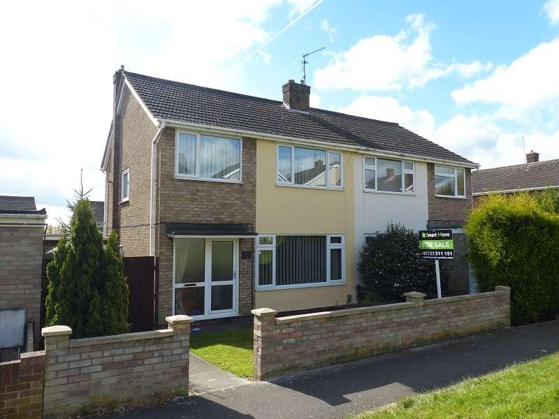 3 Bedrooms Semi Detached House for sale in Ashridge Walk, Yaxley, Peterborough, PE7 3EU