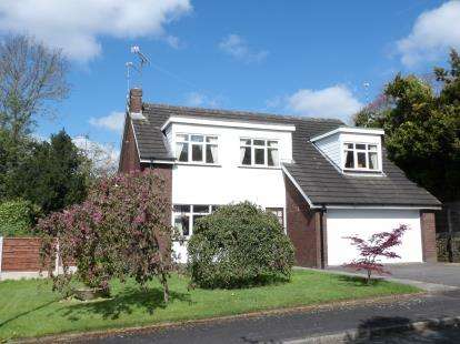 4 Bedrooms Detached House for sale in Fawns Keep, Wilmslow, Cheshire