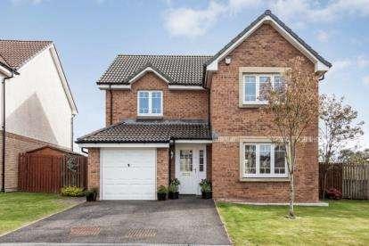 4 Bedrooms Detached House for sale in Bentinck Grange, Jackton