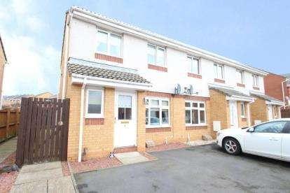 3 Bedrooms End Of Terrace House for sale in Glenkinchie Road, Kilmarnock, East Ayrshire