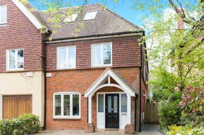 4 Bedrooms End Of Terrace House for sale in Glen Eyre Road, Bassett, Southampton