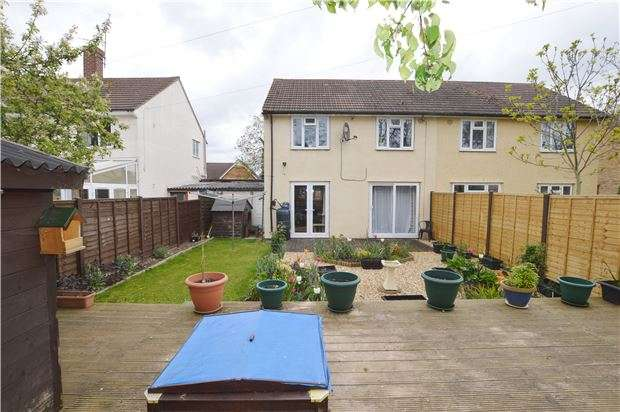3 Bedrooms Semi Detached House for sale in Hesters Way Road, CHELTENHAM, GL51 0DA