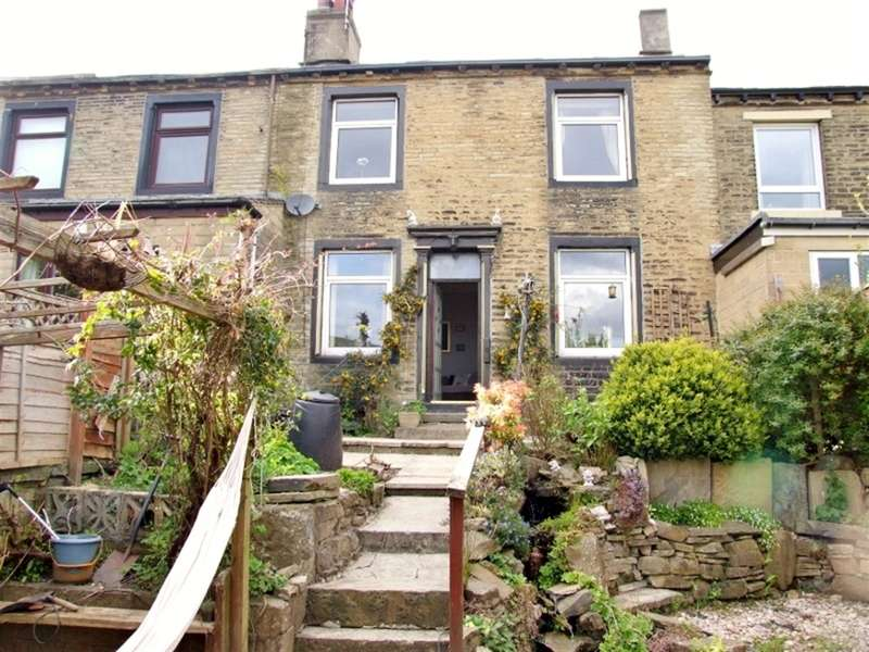 2 Bedrooms Terraced House for sale in Belmont Street, Claremount, Halifax, HX3 6AT