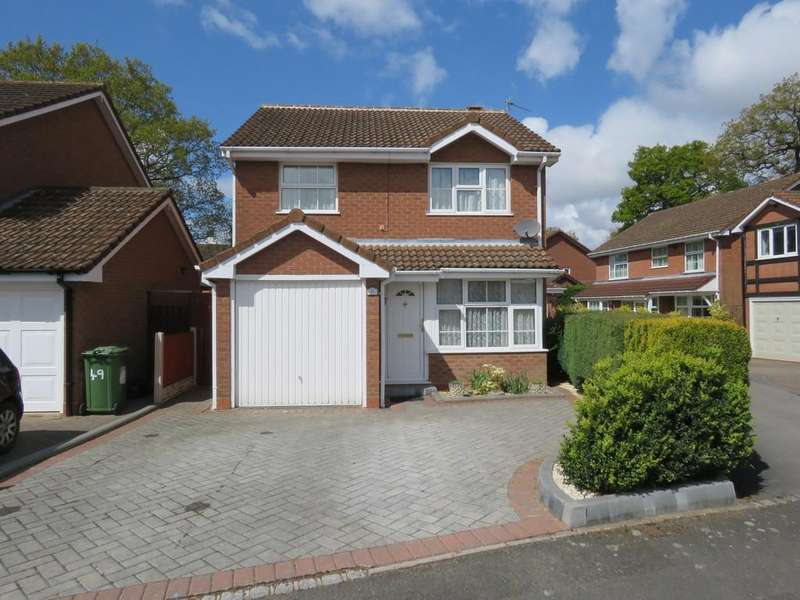 3 Bedrooms Detached House for sale in Winthorpe Drive, Solihull