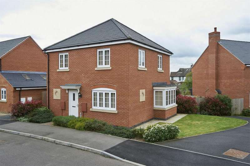 3 Bedrooms Detached House for sale in Swift Close, Desborough, Kettering, Northamptonshire
