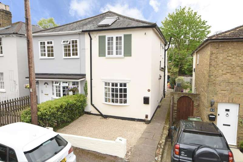 3 Bedrooms Cottage House for sale in Anderson Road, Weybridge, Surrey, KT13